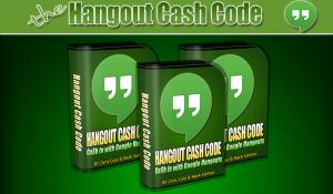 hangout cash code