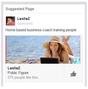 FB likes ad